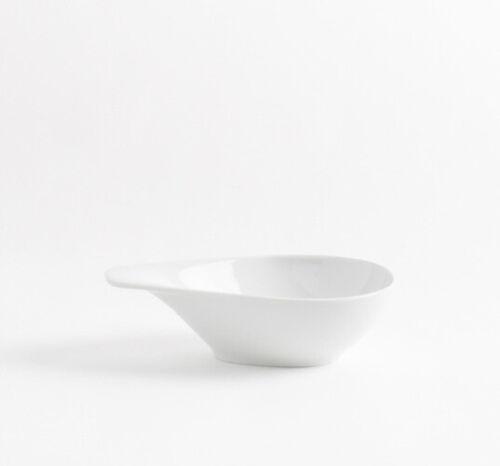 6 Stück Schale mit Griff 0,4 Liter Salat Suppe Kahla  ELIXYR  Porzellan  weiß