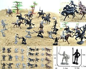 28-pcs-Knights-Warriors-Horses-Medieval-Toy-Soldiers-Figures-Playset