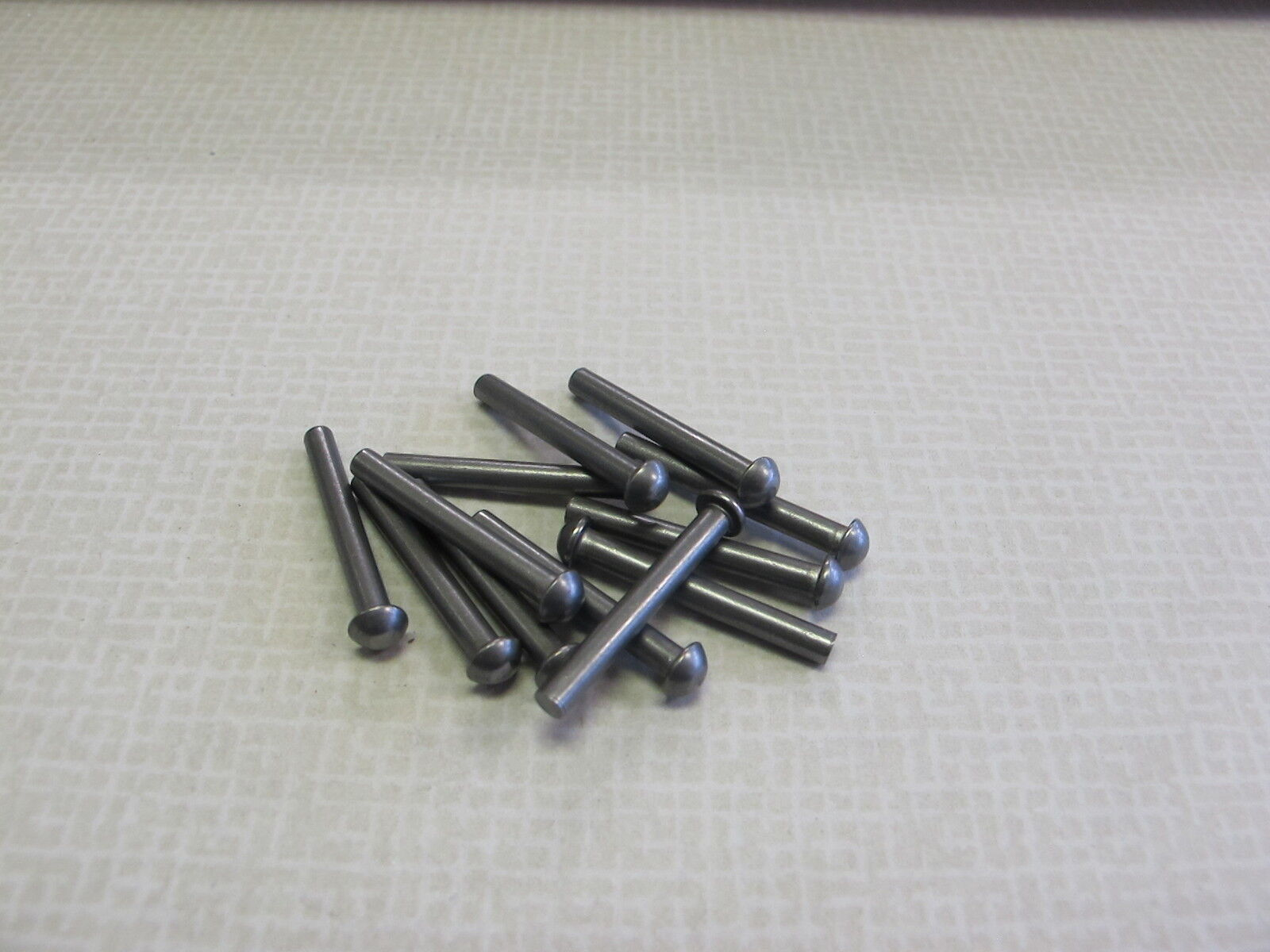 1 8 X 1   Steel Round Head Solid Rivet - (1,000 pcs) UK made for model engineers