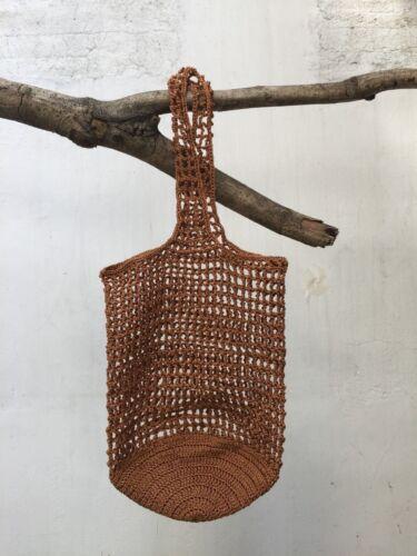 shopping bag market net bags Crochet beach bag