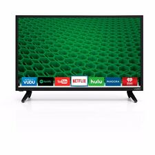 "Vizio D24-D1 24"" 1080p Widescreen  Full HD LED Smart TV W/ VGA, HDMI"