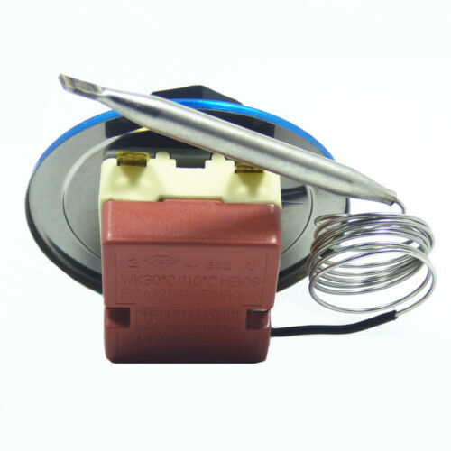 1PCS Temperature Control Switch AC 250V 16A 2//3 Terminals Rotary Knob Thermostat