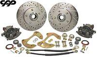 55-57 Chevy Belair Wide Offset Disc Brake Upgrade Conversion Kit