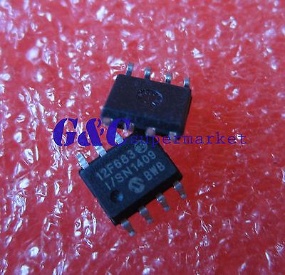 50PCS PIC12F683-I//SN IC MCU 8BIT 3.5KB FLASH 8SOIC New