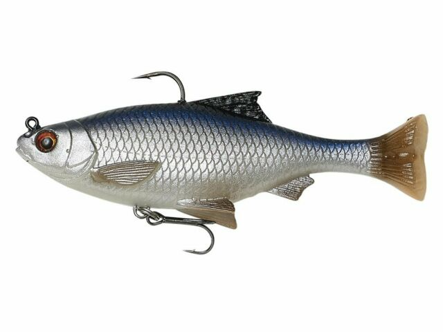 """New Savage Gear 3D Hybrid Pike Tail Bait 10/"""" PIKE COLOR HP-250-P"""