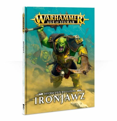 Warhammer Age of Sigmar BATTLEE IRONJAWZ NEW