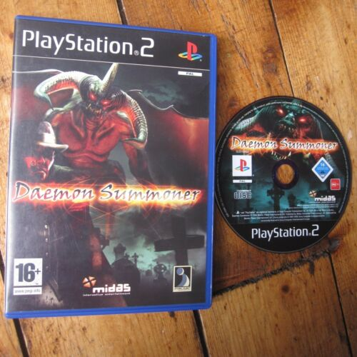 1 of 1 - Daemon Summoner Sony PlayStation 2 PS2 UK PAL Game Free Post