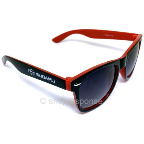 Subaru STi Sunglasses Shades Black /& Red UVA//UVB Protection Official Genuine