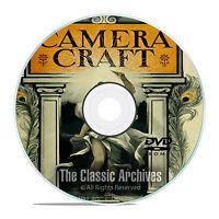 Camera Craft Magazine, 490 Back Issues, World Photography History, Pdf Dvd E66
