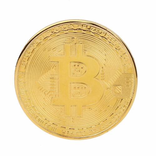 Bitcoin BTC Coin Münze Sammler Geschenk Münze Kunst Sammlung Gold Silber Kupfer
