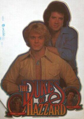 Vintage Dukes of Hazzard Iron On Transfer T-Shirt 80/'s John Schneider NOS