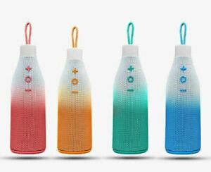 Portable Bottle Speakers Wireless Bluetooth With V4.2 Stereo Bass Loud Sound