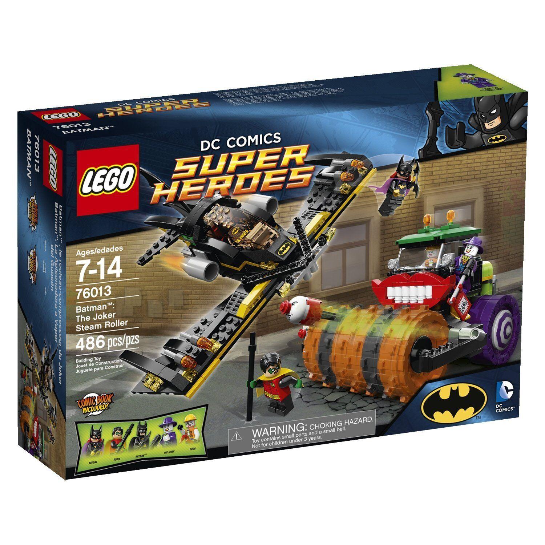 LEGO DC BATMAN  THE JOKER STEAM ROLLER  (76013) - RETIRED - NEW IN SEALED BOX