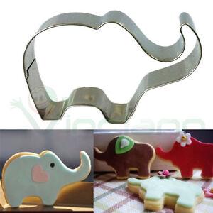 Stampino-formina-Elefante-forma-stampo-biscotto-taglia-biscotti-decorazione-cake