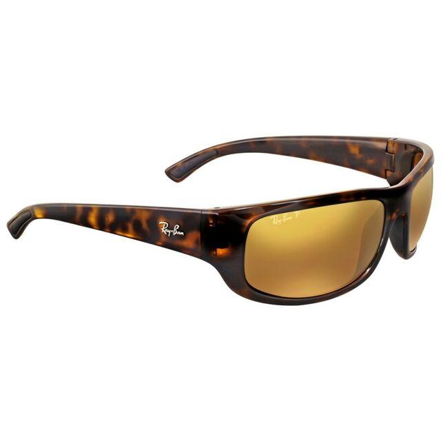 388e807bd5 Sunglasses Ray-Ban Chromance Rb4283ch 710 a3 64 Havana Brown Mirror  Polarized