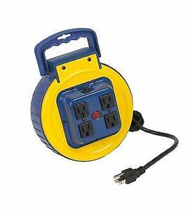 Retractable Extension Cord Reel >> Alert Stamping 3525ac Retractable Power Cord Reel