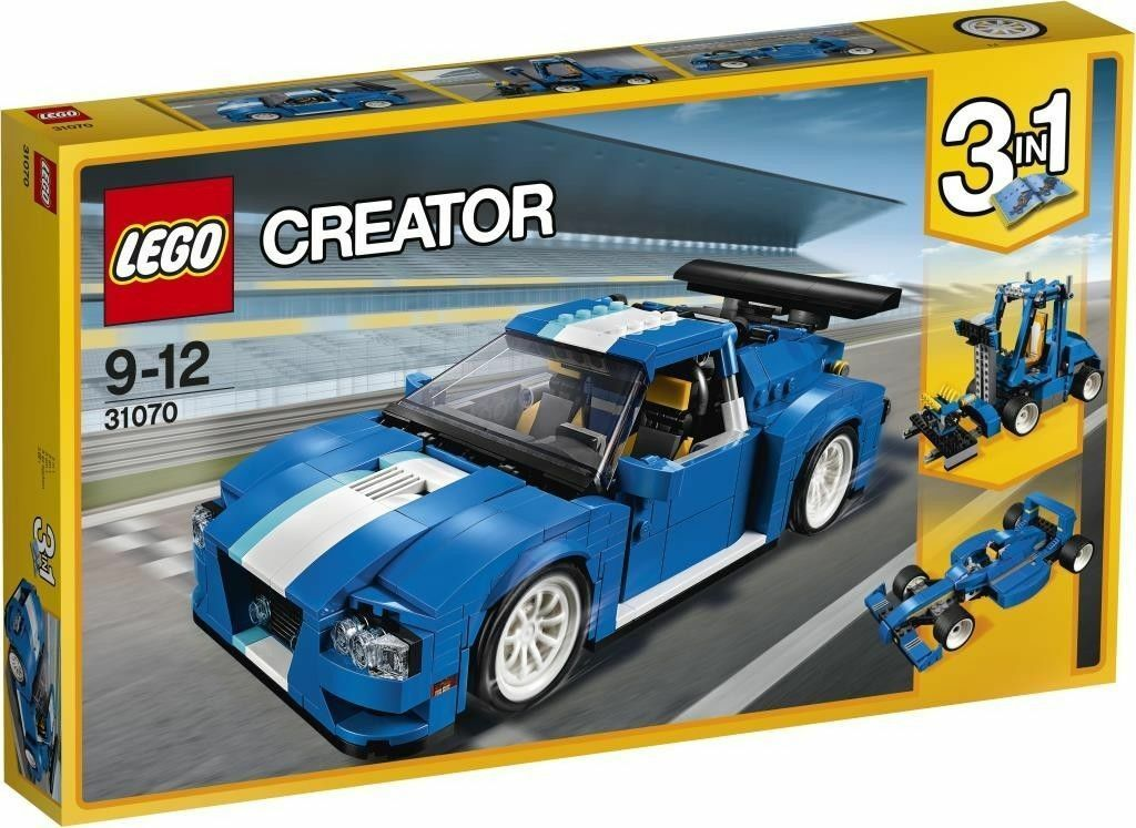 Lego 31070 Creator 3 en 1 Turbo Track Racer