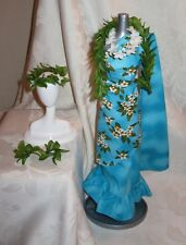 BARBIE DOTW PRINCESS OF THE PACIFIC ISLANDS DRESS LEI HEADPIECE FASHION FOR DOLL