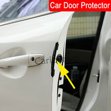 Car Door Protector Universal Auto Door Side Edge Protection Sticker Anti Collision Anti-rub Fashion AMOUTOR 4 Pack Car Door Edge Guards Black Fits Most Car SUV Pickup Truck