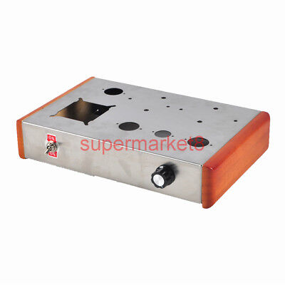 Hifi diy Tube Amplifier Stainless Steel Chassis Box Enclosure 12AX7 6N1 6P3P