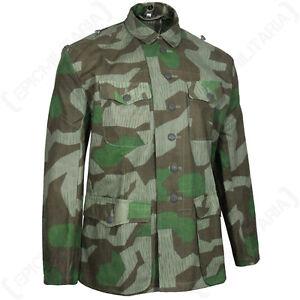 Repro Splinter Campo Blusa Alemania Camuflaje Ejército Ww2 Militar AL3Rj54