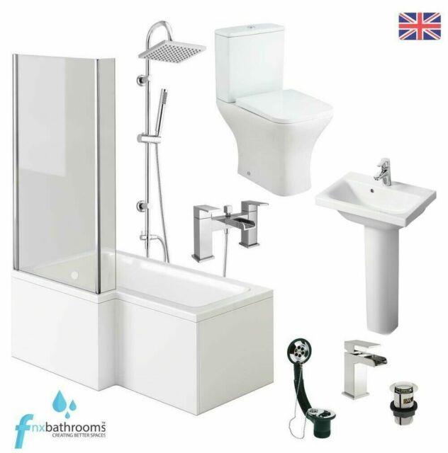 Shower Bath Set With Vanity Unit