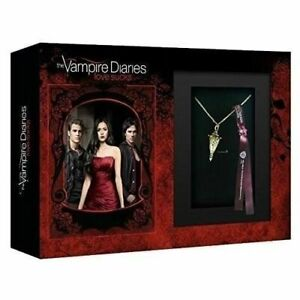 COFFRET BLU-RAY SERIE COMME NEUF ROMANCE : VAMPIRE DIARIES - SAISONS 1 A 4