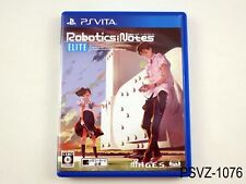 Ps Vita Robotics Notes Elite Import Japan Japanese Playstation Sony
