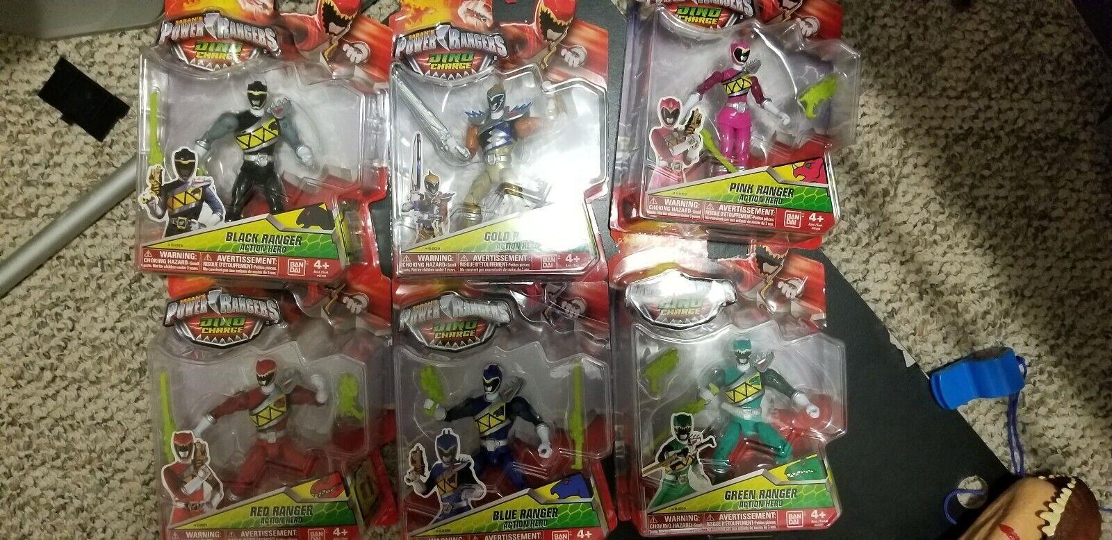 primera reputación de los clientes primero Power Power Power Rangers Dino Cochego De Juguete Colección  ventas de salida