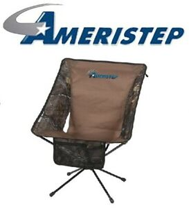 Ameristep-3RX1A025X4-Realtree-Xtra-Camo-Tellus-Outdoor-Hunting-Blind-Chair-Seat