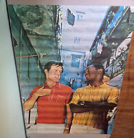 i Spy Poster Cosby Culp Scott Robinson 1968 Personality Posters Tv Television