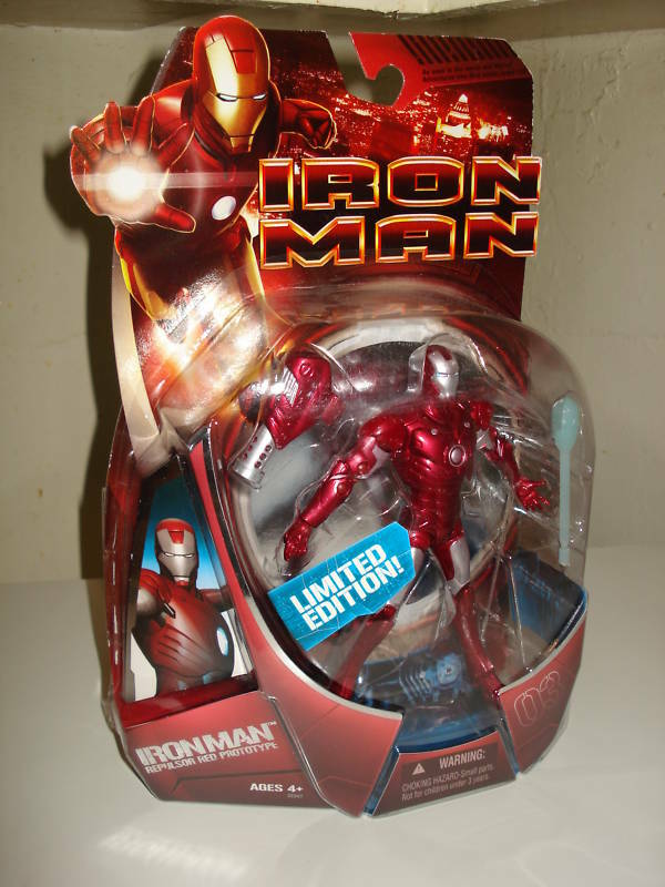 IRON MAN STEALTH STEALTH STEALTH OPERATION & PredOTYPE  Exclusive Figures  VHTF d944ce