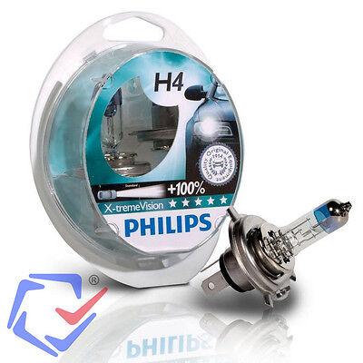 Scheinwerferlampe Philips X-tremeVision +130% H4 Halogen Scheinwerfer Lampe