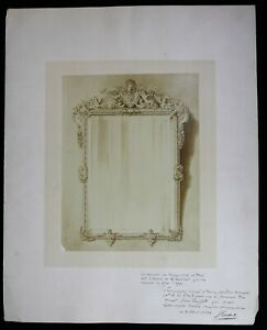 Jules-Buffet-19th-Photography-And-Dedication-Of-1884-A-Mirror-Of-Gambier