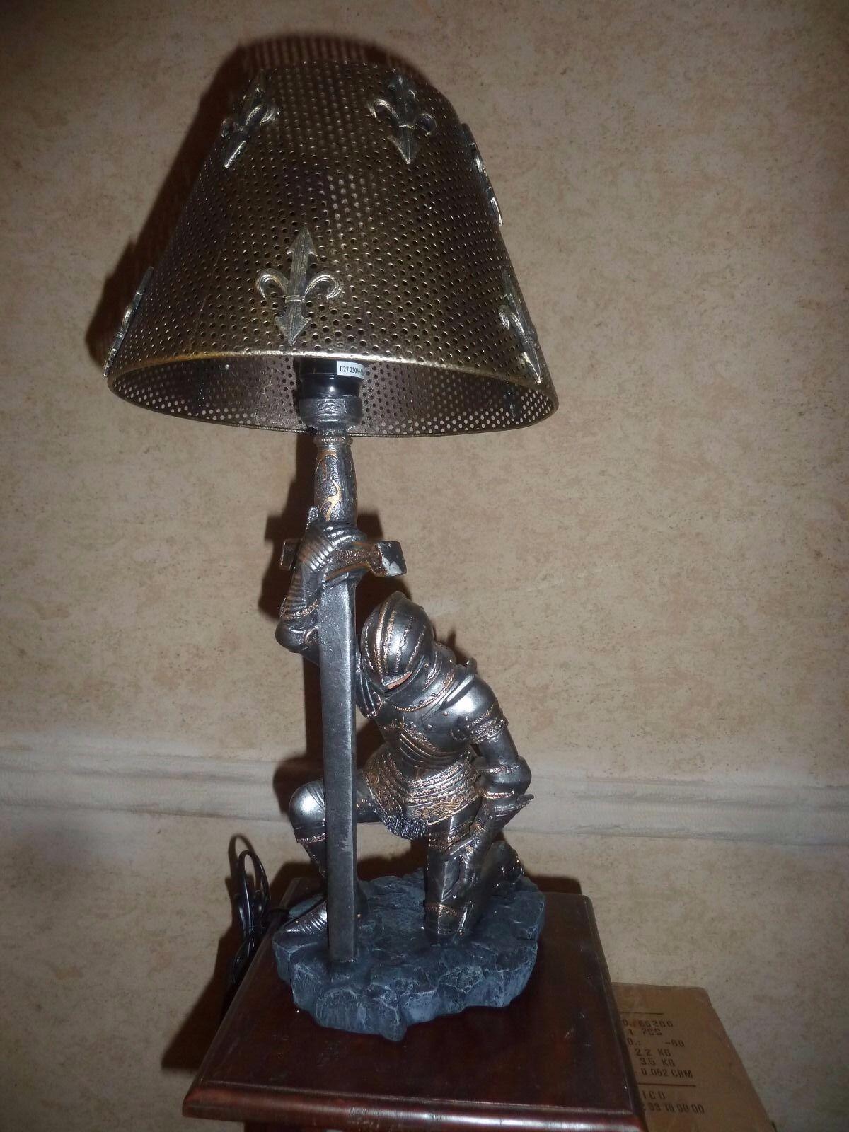 LAMPE Chevalier 55 cm, Seigneur des Anneaux, WORLD OF WARCRAFT, Game of THRONES