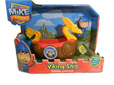 Fisher Price Mike The Knight Viking Ship Bath Adventure Toy New