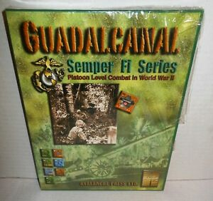 Boxed-WAR-GAME-Guadalcanal-Semper-Fi-Series-Avalanche-Press-op-2003-Shrink-Wrap