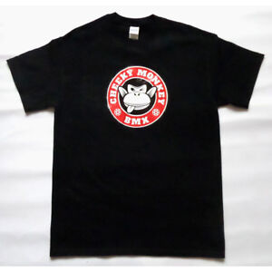 CHEEKY MONKEY BMX T-Shirt - Monkoffee Red - Mid School FREE UK POST & STICKER