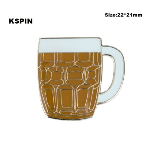 Jarra de cerveza taza insignia pin broche metal joyas ele revers esmaltes nuevo