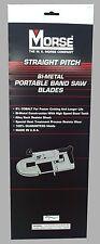 Mk Morse Zwep4410r 44 78 In X 10 Tpi Bi Metal Portable Band Saw Blade 3 Pk