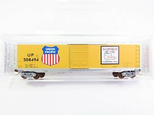 N-Scale-Micro-Trains-MTL-77090-UP-Union-Pacific-50-039-Standard-Box-Car-508494