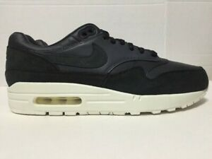 072e7dc0e5 Nike Air Max 1 Pinnacle Running Shoes Black 859554-004 Mens Size 9.5 ...