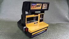 Vintage Polaroid Job Pro TM 600 Camera Yellow Instant Film Camera TESTED! WORKS!