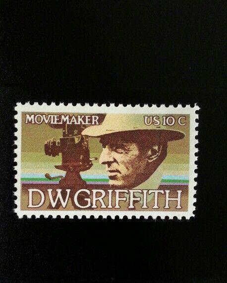 1975 10c D.W. Griffith, Motion Pictures Scott 1555 Mint