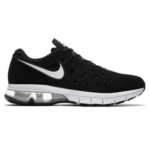 NIKE MEN'S SIZE 11 AIR TRAINER 001 180 RUNNING SHOES 916460 001 TRAINER BLACK / WHITE NEW 2f75e1