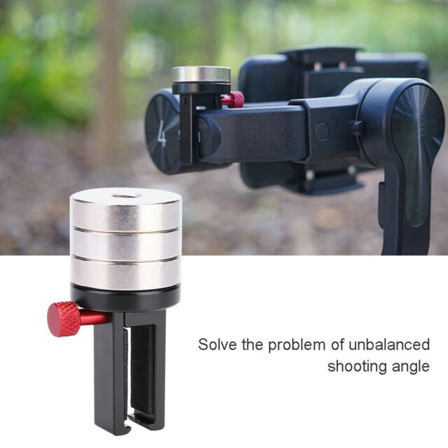 Counterweight Gimbal for Zhiyun Smooth 4//Q Feiyu Vimble 2 DJI Osmo Mobile 2