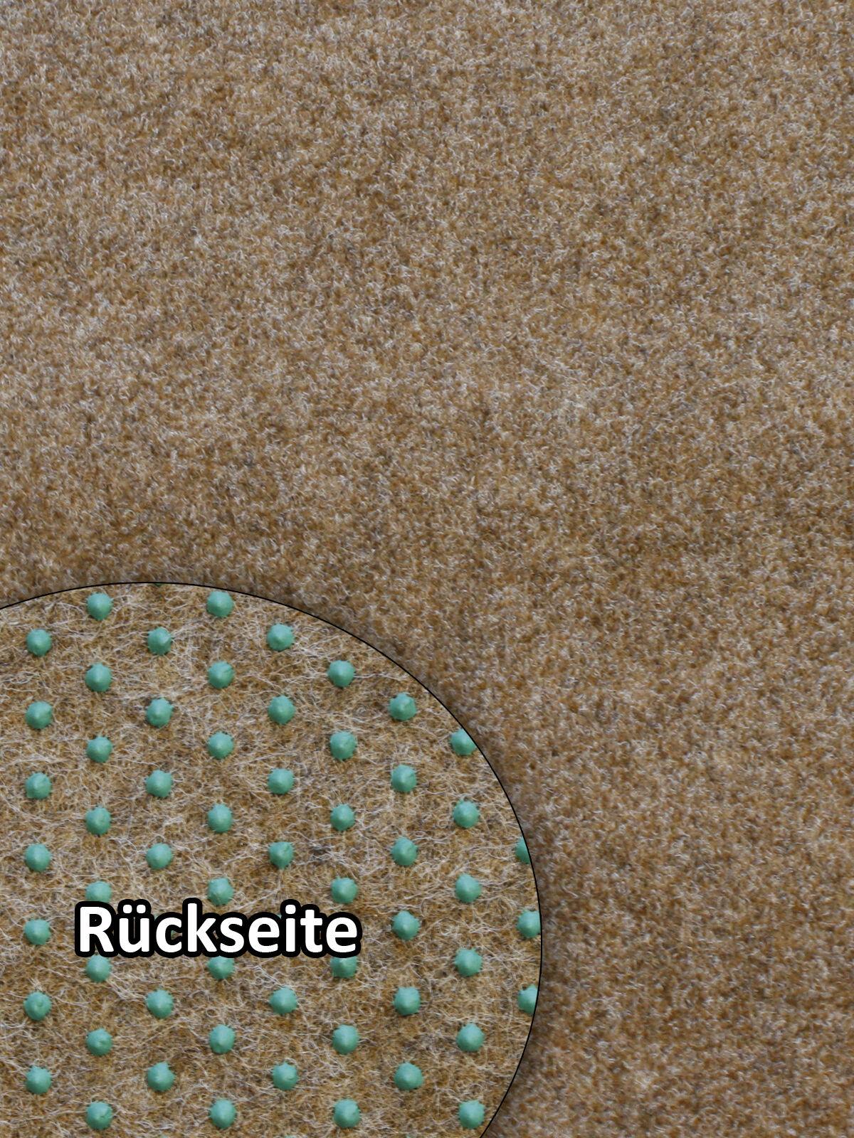 Rasenteppich Kunstrasen Premium hellbraun 400x350 cm