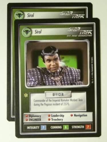 Star Trek CCG NG SIROL x2