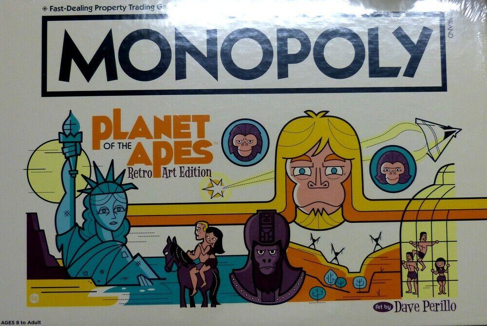 Monopoly pianeta delle scimmie Planet of the Apes  RETRO TIPO EDT. (in inglese) NUOVO  sconto di vendita