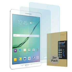 """2x 9h Verre Trempé Samsung Galaxy Tab S2 9,7 """" Protection D'Écran Blindé Circulation Sanguine Tonifiante Et Douleurs D'ArrêT"""